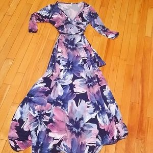 Maternity Shower or Photo Shoot Dress Floral